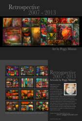 Retrospective 2007 - 2013 by peggymintun