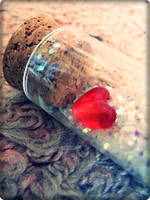 Heart in a Bottle by Lexxen