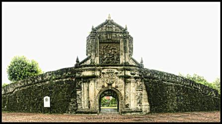 Fort Santiago by deathehart
