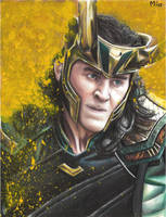 Loki (Thor:Ragnarok) by MayTheForceBeWithYou