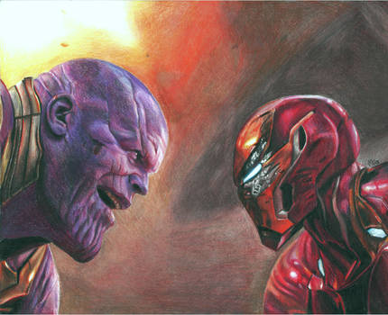 All that for a drop of blood (colored pencils) by MayTheForceBeWithYou