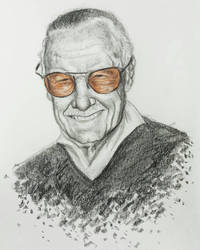 RIP Stan Lee by MayTheForceBeWithYou