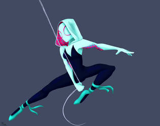 Spider-Gwen  by MayTheForceBeWithYou