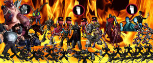 TMNT 2012 series: The Foot Clan by Wildcat1999