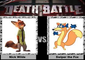 Death Battle: Nick Wilde vs Swiper the Fox by Wildcat1999