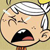 Lincoln Loud Crying Emoticon