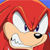 Knuckles Angry Emoticon