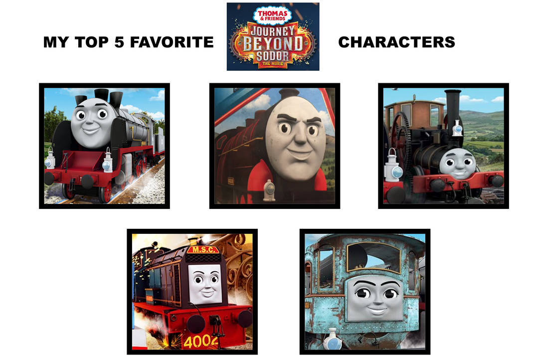 My Top 5 Journey Beyond Sodor Characters By Wildcat1999 On Deviantart