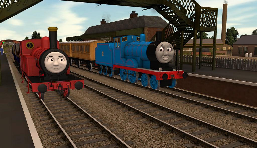 Trainz Thomas Download Station – Dibujos Para Colorear