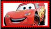 Lightning McQueen Fan Stamp by Wildcat1999