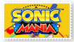 Sonic Mania Fan Stamp by Wildcat1999
