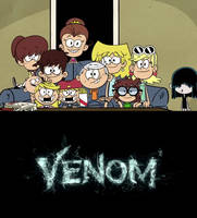 The Loud Kids ready to watch Venom 2018 by Wildcat1999
