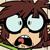 Lisa Scared Emoticon