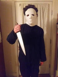 Me as Michael Myers by Wildcat1999