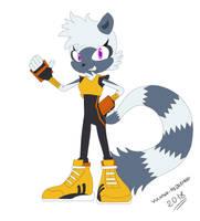 Tangle the Lemur by Vulkano-Hedgehog
