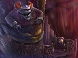 The Phantom, Huh by VegaColors
