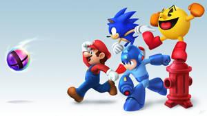 Smash Bros by VegaColors