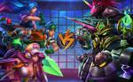 Arcade Battle by VegaColors