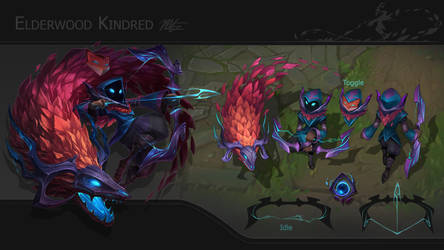 Elderwood Kindred Concept Page by VegaColors
