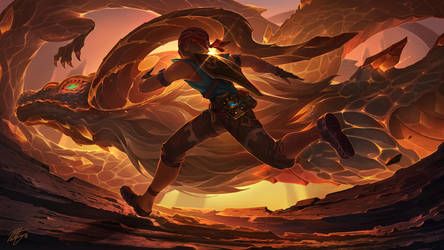 Sunset Run by VegaColors