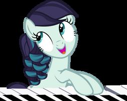 Rara Plays on a Piano by IronM17