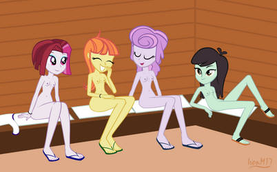 A Day At The Spa 6 (Sauna) by IronM17