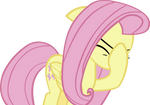 Fluttershy facehoof by IronM17