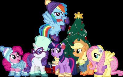 Christmas Six by IronM17