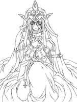 Holy Knight by Valkyrie-Sorrow
