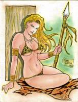 Jungle Girl (#1) by Rodel Martin by VMIFerrari