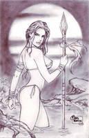 Jungle Girl (#2) by Rodel Martin by VMIFerrari