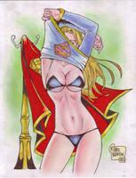 Supergirl (#5) by Rodel Martin by VMIFerrari