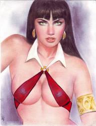 Vampirella (#2) by JV by VMIFerrari