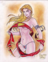 Supergirl (#12) by Rodel Martin by VMIFerrari