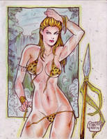 Jungle Girl (#8B) (FINAL) by Rodel Martin by VMIFerrari
