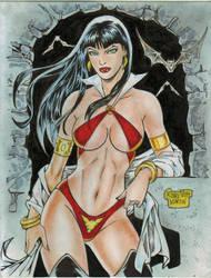 Vampirella (#9) by Rodel Martin by VMIFerrari