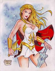 She-Ra (#1) by Rodel Martin by VMIFerrari