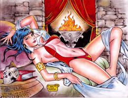 Vampirella (#16C) (FINAL) by Rodel Martin by VMIFerrari