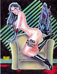 The Baroness (#13C) (FINAL) -NUDE- by Rodel Martin by VMIFerrari