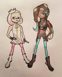 Pearl and Marina by Lanm01