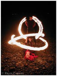 Fire Spinners by eyecandyrayce