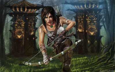 Tomb-raider- -rishi by HRishiraj