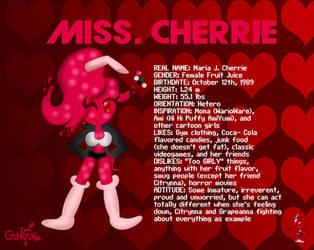 Maria J. Cherrie AKA Miss Cherrie by monachao
