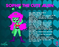Sophie The Cutie Alien by monachao
