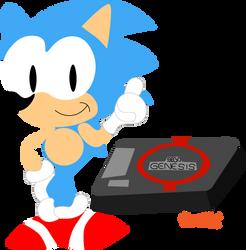 Genesis Sonic by monachao