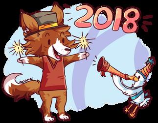 Happy 2018!! by Caia-Mei
