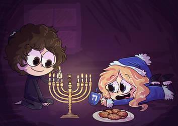 Hanukkah!! by Caia-Mei