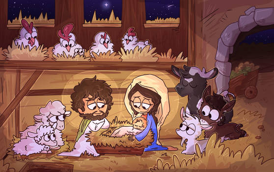The Nativity by Caia-Mei