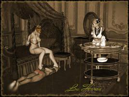 Eveningpunishment by Louferrox