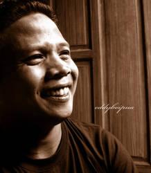 self-image of a happy man by eddypua
